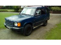Land Rover Discovery 51 plate Diesel td5 4x4