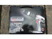 Hammer Drill Set 24v