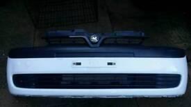 Vauxhall Corsa C 2000-2006 Preface Lift White Front Bumper