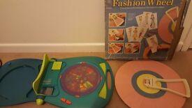Fashion wheel and mandala- designer