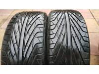 Triangle TR968 215/35 19 - winter tyres - mud and snow tyres - 7mm tread - budget - £60