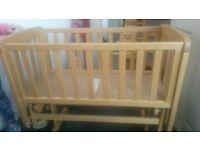 mamas and papas wooden crib