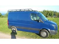 SWB Low roof VW Crafter roof rack.