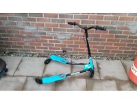 Boys mini flicker style scooter for sale