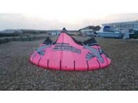 13m Best Waroo Kitesurf Kite, Including Bar and Lines