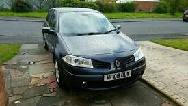 RENAULT MEGANE 12 MONTHS MOT LOW MILAGE EXCEPTIONAL CONDITION.