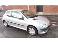 2005 Peugeot 206 Zest 2 1.4 Petrol Immaculate Condition..