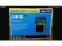 AQUA ONE AQUANANO 100 LTR FISH TANK