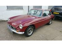 1972 mgb gt 1800cc with overdrive