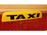 Magnetic Taxi Sign £10