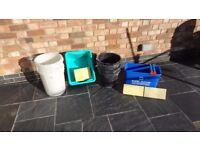 Karl Dahm washboy buckets and sponges