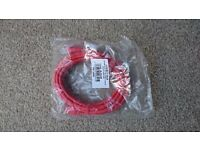 30 Network Cables 3 meters Long RJ45 Cat5e UTP Standard Colour RED