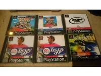 Ps1 games complete mixed