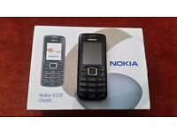 nokia 3110 classic with original box and charger