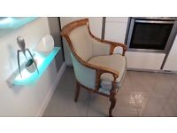 Lovely Walnut Effect Bedroom / Occasional Chair £600 when new