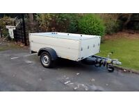 Anssems leisure trailer GT750-211 HT with front hinged locking hard top