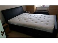 Kingsize bed with mattress...