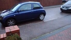 Nissan Micra SX 3 Door Hatchback Blue with extras one woman owner petrol low mileage