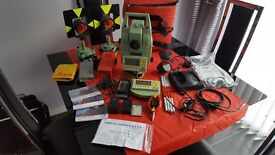 Leica TCRA1105 Reflectorless Robotic Total Station with RCS1100