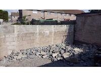 FREE I Will Give FREE debris form concrete