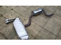Mk5 golf twin exhaust