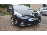Toyota prius plus 7 seats one company owner panaromic roof reverse camera blutooth very clean car uk