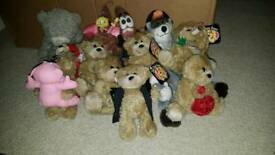 Bad taste teddy bears, me to you plushie & others