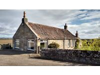 Pretty detached 2-bed country cottage -private (within 2miles St Andrews)
