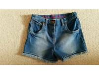 Girls brand new jean shorts