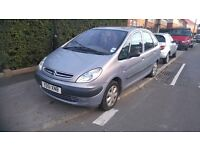 BARGAIN CITROEN PICASSO 1.6 8V 2002 VERY SPACIOUS FAMILY CAR 12 MONTHS MOT READY TO DRIVE AWAY £475