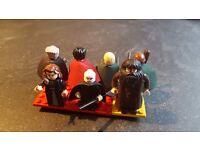 7 Harry Potter lego minifigures
