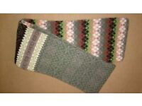Barbour Mens Multi Pattern 100% Lambswool Scarf - New Unwanted Gift