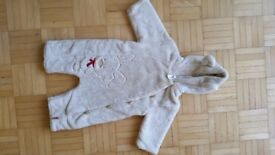 Baby boy/girl all in one snowsuit pramsuit size 68 (3-6 months)