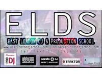 East London DJ School, DJ Classes, Learn to DJ, DJ Tuition, Ableton & Logic Music Production