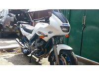 Yamaha XJ600s Diversion - Givi Panniers - New MOT - A2 licence restrictors fitted