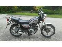 Huonio hn125-8 great starter bike