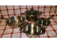 Set of Berghoff Soligen Pans