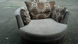 Dfs cuddler chair