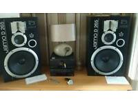 Jamo d 265 and technics amp