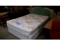 Silentnight double bed with 4 drawers