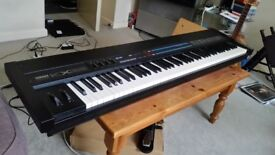Yamaha KX88 weighted keyboard controller - a classic! + Yamaha FC4 sustain pedal