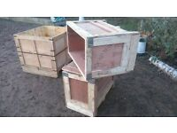 CHEAP STORAGE / SHIPPING BOXES - SMALL / MEDIUM / LARGE /XL - Wooden -ideal for upcycling projects