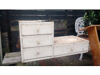 Mid century cabinet drawers - for upcycling - free