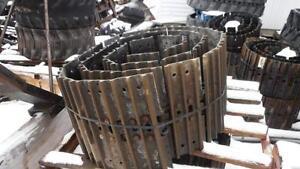 ASSORTED STEEL EXCAVATOR TRACKS