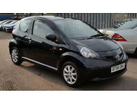 Toyota Aygo 1.0 VVT-i AUTOMATIC Black Multimode FULL TOYOTA SERVICE HISTORY + 1 OWNER + HPI CLEAR