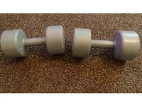 Pro Fitness 4.5kg dumbbells x2