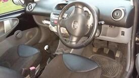 2009 Toyota Aygo Black