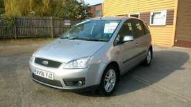 GORGEOUS 2006 FORD FOCUS C-MAX 2.0 TDCI DIESEL, ONLY 78K, FSH, NEW MOT & 3 MONTHS WARRANTY