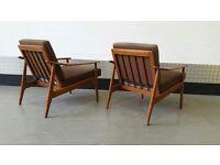Vintage DANISH Armchair Design Midcentury Loft Modern Scanddinavian Chair