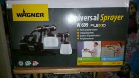 Wagner w669 flexio paint sprayer brand new